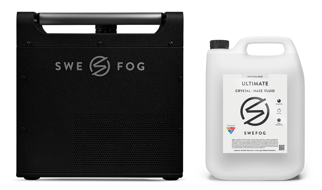 Crystal Haze Fluid with Ultimate 2000 - Swefog